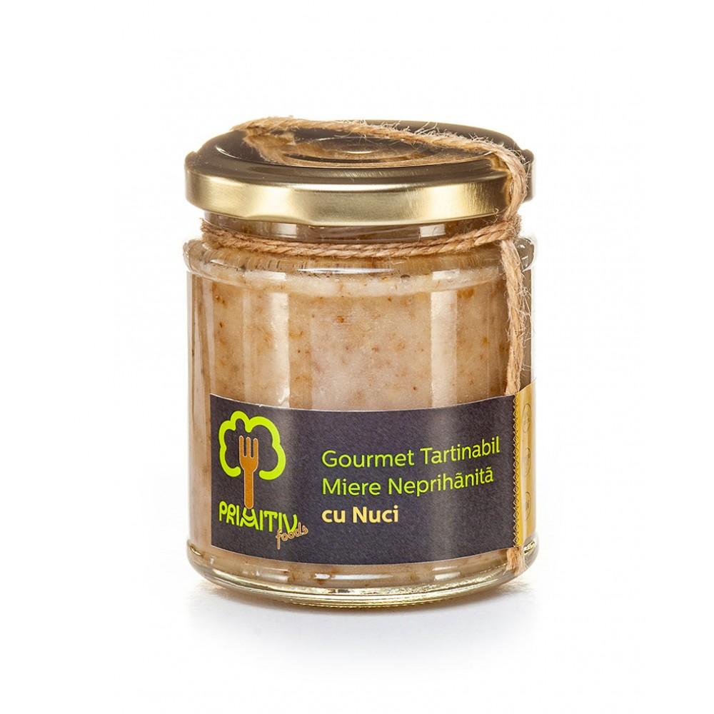 Gourmet tartinabil din miere si nuci