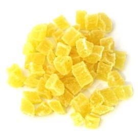 Ananas confiat cuburi