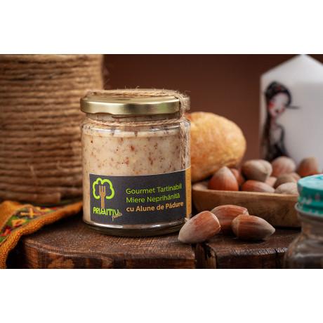 Gourmet tartinabil din miere si alune de padure