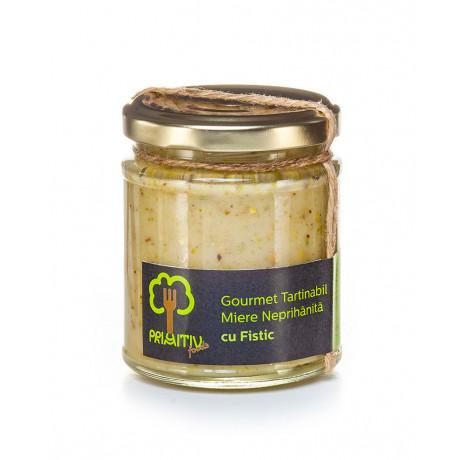 Gourmet tartinabil din miere si fistic