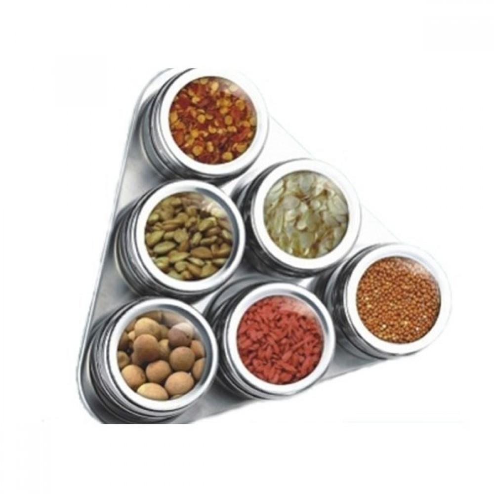 Set recipiente pentru condimente triughiular