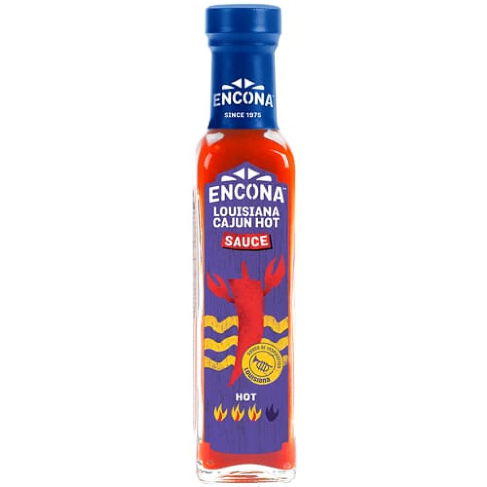 Sos ardei iute Encona Louisiana Cajun 142 ml